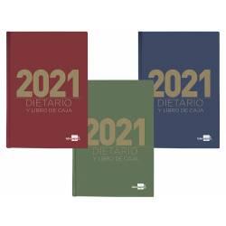 DIETARIO LIDERPAPEL 12X16,5 CM 2021 OCTAVO PAPEL 70 GRAMOS