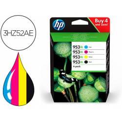 Cartucho HP 953XL Pack 4 colores 3HZ52AEBL