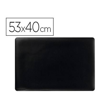 Vade de sobremesa Durable Negro Plastico 53x40 cm