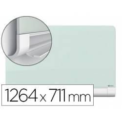 Pizarra Blanca Nobo Diamond Cristal Magnetica 126,4x71,1 cm