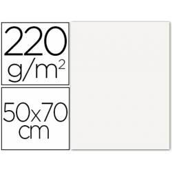 Cartulina Lisa/Rugosa Liderpapel Blanco 50x70 cm 220 gr