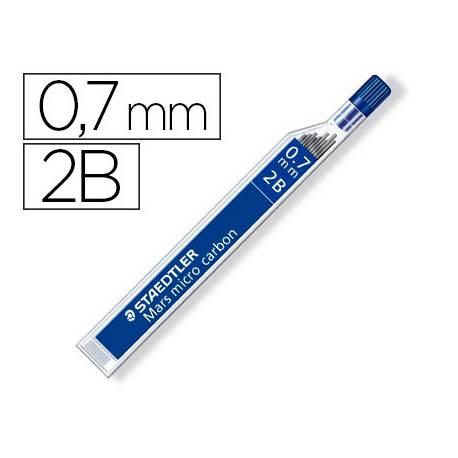 Minas Staedtler Mars Micro 0,7 mm 2B grafito Tubo de 12 unidades