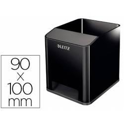Cubilete portalapices Leitz Sound Wow 90x100mm Negro