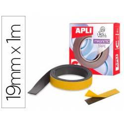 Cinta adhesiva magnetica Apli 19mm x 1m