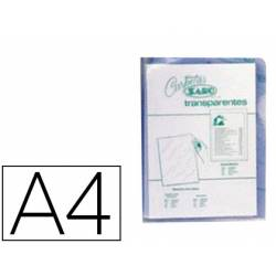 Funda dossier uñero Saro DIn A4 280 micras transparente