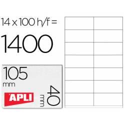 Etiquetas Adhesivas Apli 1275
