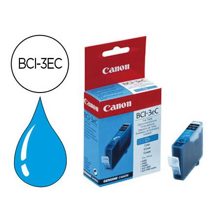 Cartucho Canon 4480A002 Nº BCI-3EC Cian