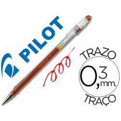 Boligrafo Pilot G-1 Rojo 0,3 mm