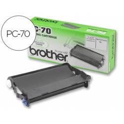 Cartucho Brother PC-70 Negro