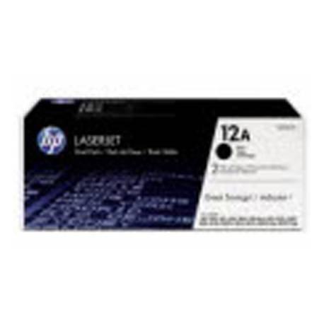 Toner HP 12A Q2612A color Negro
