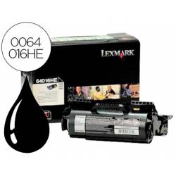 Tóner Lexmark 0064016HE color negro