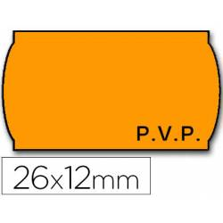 Etiquetas adhesivas onduladas Meto 2 rollos de 1500 etiquetas
