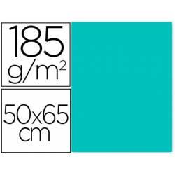 Cartulina Gvarro Verde Menta 50x65 cm 185 gr