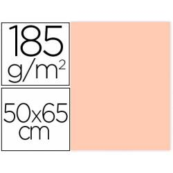 Cartulina Gvarro Carne 50x65 cm 185 gr