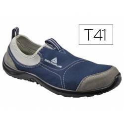 Zapatos de seguridad marca Deltaplus poliester talla 41