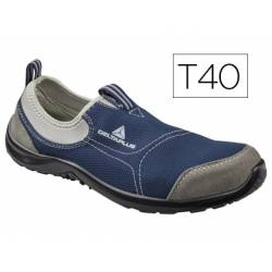 Zapatos de seguridad marca Deltaplus poliester talla 40