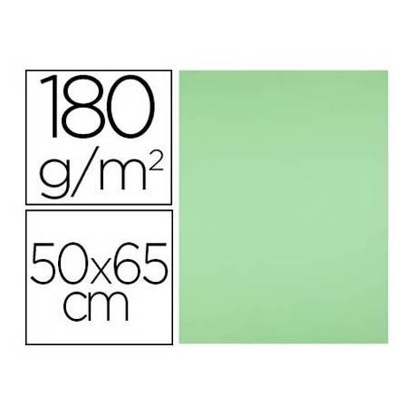 Cartulina Liderpapel Verde Pistacho Paquete de 25 unidades