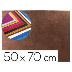 Goma Eva Liderpapel con purpurina 50x70cm 60g/m2 marron