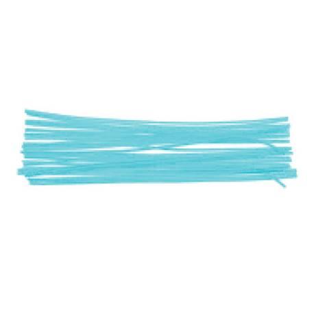 Varillas de chenille 50 cm color azul surtidos itKrea