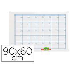 Planning Mensual Rotulable Magnético 90x60 Nobo