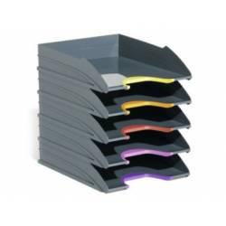 Bandeja de sobremesa Durable plastico 255x55x330mm gris