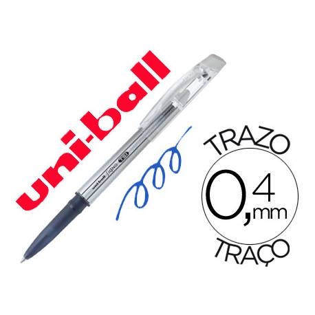 Bolígrafo Borrable roller gel UF-220 color azul 0,4 mm