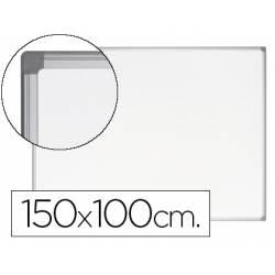 Pizarra Blanca Vitrificada Magnetica Earth-it marco de aluminio 150x100 Bi-Office
