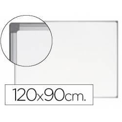 Pizarra Blanca Vitrificada Magnetica Earth-it marco de aluminio 120x90 Bi-Office