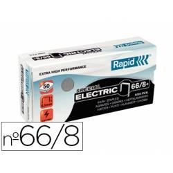 Grapas Rapid 66/8 caja 5000 grapas