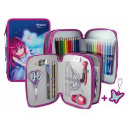 Plumier Maped Butterfly 34 piezas 2 pisos