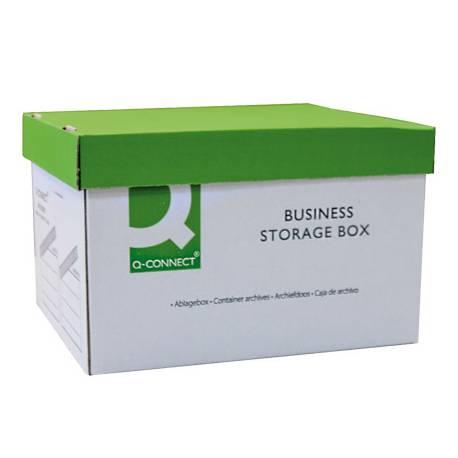Cajon Q-connect para 3 cajas archivo definitivo A4 manual
