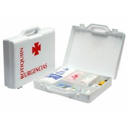 Botiquín con material para primeros auxilios Forma maletín