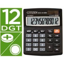 Calculadora sobremesa Citizen SDC-812-BN