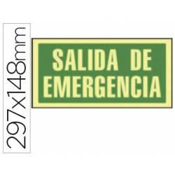 Señal Syssa salida emergencia