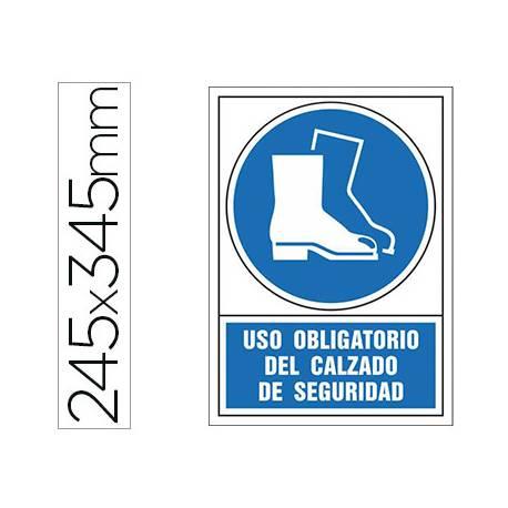 Señal Syssa obligatorio uso calzado seguridad
