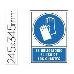 Señal Syssa obligatorio uso guantes