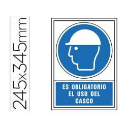Señal Syssa obligatorio uso casco