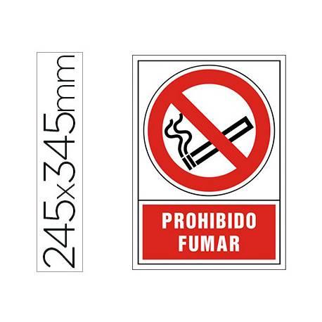 Señal Syssa prohibido fumar