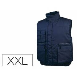 Chaleco multibolsillos DeltaPlus azul talla XXL