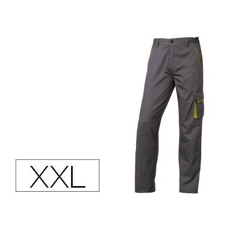Pantalón trabajo DeltaPlus gris talla XXL