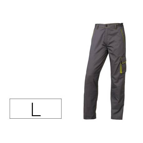 Pantalón trabajo DeltaPlus gris talla L