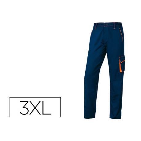 Pantalón trabajo DeltaPlus azul talla 3XL