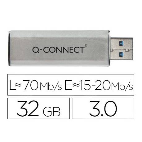 Memoria usb Q-connect flash 32GB