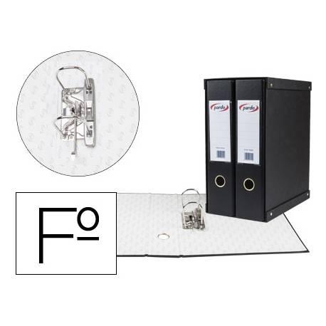 Modulo 2 archivadores pardo folio negro