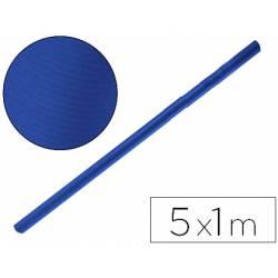 Bobina papel kraft Liderpapel 5 x 1 m azul azurita