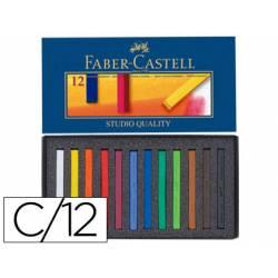 Tiza Faber Castell 12 unidades surtidos
