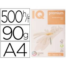 Papel multifuncion A4 IQ Premium 90 g/m2