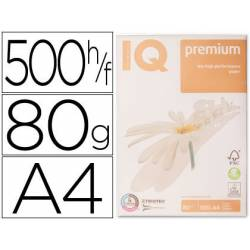 Papel multifuncion A4 IQ Premium 80 g/m2