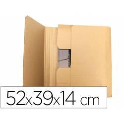 Caja para embalar Libros de tamaño 52x39x14Cm. marca Q-Connect