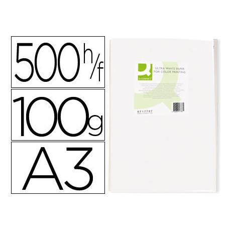 Papel fotocopiadora Q-Connect Ultra White DIN A3 100 Gramos